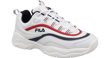 Fila ray low 150 white fila navy fila red 40 biały