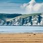 Kingsbridge cliffs - plakat premium wymiar do wyboru: 42x29,7 cm