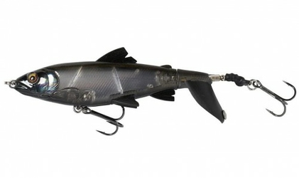 Wobler Sawage Gear Smash Tail Minnow 13,5cm 38g Black Ghost
