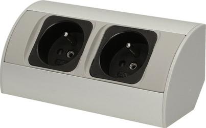 Gniazdo meblowe 2x250V AC OR-AE-1303 ORNO - Szybka dostawa lub możliwość odbioru w 39 miastach