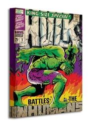 Hulk inhumans - obraz na płótnie