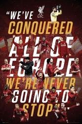 Liverpool fc europe 2019 - plakat