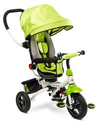 Toyz wroom green rowerek trzykołowy z obracanym siedziskiem + prezent 3d