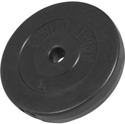 5 kg obciążenie winylowe na sztangę talerz 30 mm gorilla sports