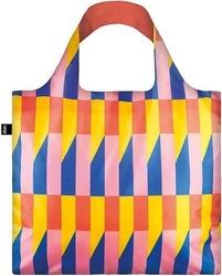 Torba loqi geometric stripes żółta