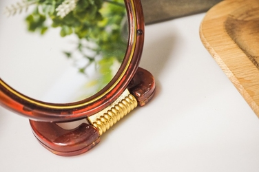 Lusterko z podstawą okrągłe 18.5 cm