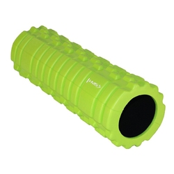 Wałek fitnessroller 45cm fs102 zielony - hms - zielona