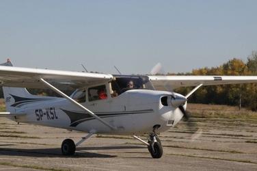 Lot widokowy samolotem dla dwojga - katowice - lot vip