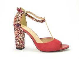 Sandały uncome 24089 czerwony