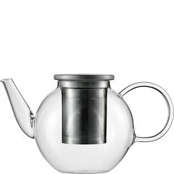 Czajnik szklany ze stalowym zaparzaczem do herbaty good mood jenaer glas 1 litr sh-115893-1
