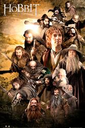The Hobbit - Obsada - plakat
