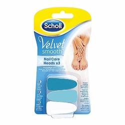 Scholl Velvet Smooth nakładki do elektronicznego pilnika