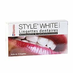 Style White Chusteczki do pielęgnacji zębów