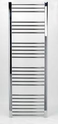 Grzejnik łazienkowy Wetherby - elektryczny, wykończenie proste, 600x1700, Chromowany