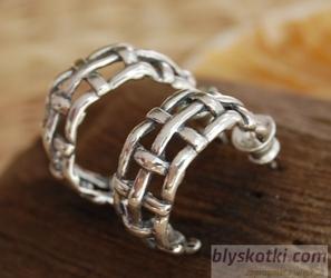 BALCO - srebrne kolczyki