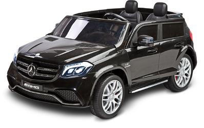 Mercedes GLS63 Czarny Samochód na akumulator + PILOT DLA RODZICA