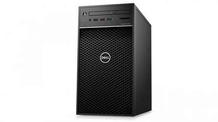 Dell Stacja robocza Precision T3630 MT E-2124G16GB256GB1TBNvidia P620DVD RWW10ProKB216MS116vPRO3Y NBD