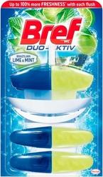 Bref, Duo-Activ, LimeMint,  zawieszka do toalet, koszyk  50ml + 2 zapasy