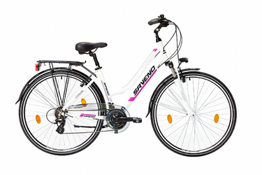 Rower trekingowy Saveno Discovery Lady Violet 2016