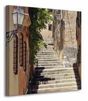 Schody, Tarragona, Hiszpania - Obraz na płótnie