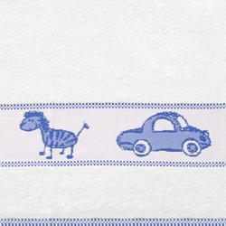 Ręcznik TOYS Frotex niebieski - niebieski