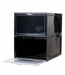 Zestaw dwóch pudełek Crep Crate na buty Storage Box