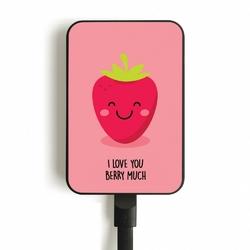 SMARTOOOLS Powerbank MC10 Berry, 10000mAh, 2.1A 5V, czas ładowania 8h, kabel micro USB
