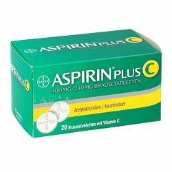 Aspirin Plus C tabletki musujące