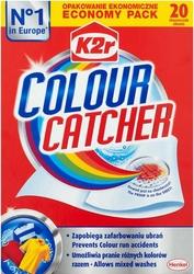 K2r Colour Catcher, chusteczki zapobiegające zafarbowaniu ubrań, 20 sztuk