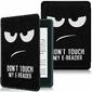 Etui Alogy Smart Case Kindle Paperwhite 4 Dont touch my e-reader + Szkło - Dont touch my e-reader