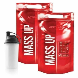 ACTIVLAB Mass Up - 2x 5000g + Shaker - Chocolate