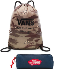 Zestaw Worek VANS League Bench Bag - VN0002W6RV1 + Piórnik Vans