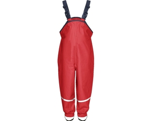 Spodnie przeciwdeszczowe czerwone Playshoes