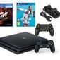 Konsola Sony PS4 Pro 1TB + 2 Pady + FIFA 19 + Gran Turismo Sport + Ładowarka