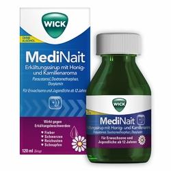 WICK MediNait syrop na przeziębienie z miodem i rumiankiem