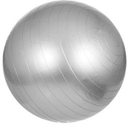65cm Piłka Fitness Gimnastyczna rehabilitacyjna Gorilla Sports szara
