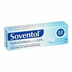 Soventol Hydrocortisonacetat 0,5 Creme