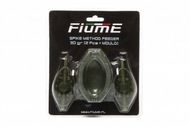 Koszyk Spike Method Feeder Set 30+30gr+Forma FIUME