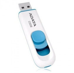Adata Dashdrive C008 64GB USB White-Blue