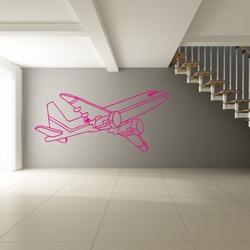 szablon malarski samolot 15