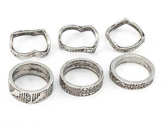 Pierścionki aztec silver I - silver I