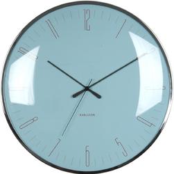 Zegar ścienny Dragonfly Karlsson niebieski KA5623BL