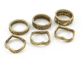 Pierścionki aztec gold - GOLD