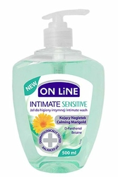 On Line, Sensitive, żel do higieny intymnej, 500ml