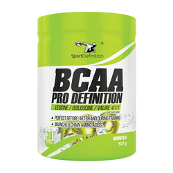 SPORT DEFINITION BCAA Pro - 507g - Wild Strawberry and Peach