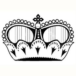 Stempel akrylowy Stamperia - korona - 105