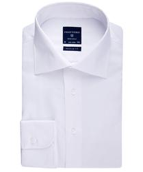 Elegancka biała koszula męska NORMAL FIT, 46