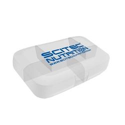 SCITEC Pill Box - White