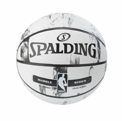 Piłka Spalding NBA Marble Series Black White