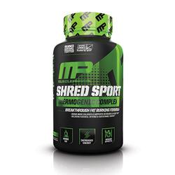 MUSCLE PHARM Shred Sport- 60caps.